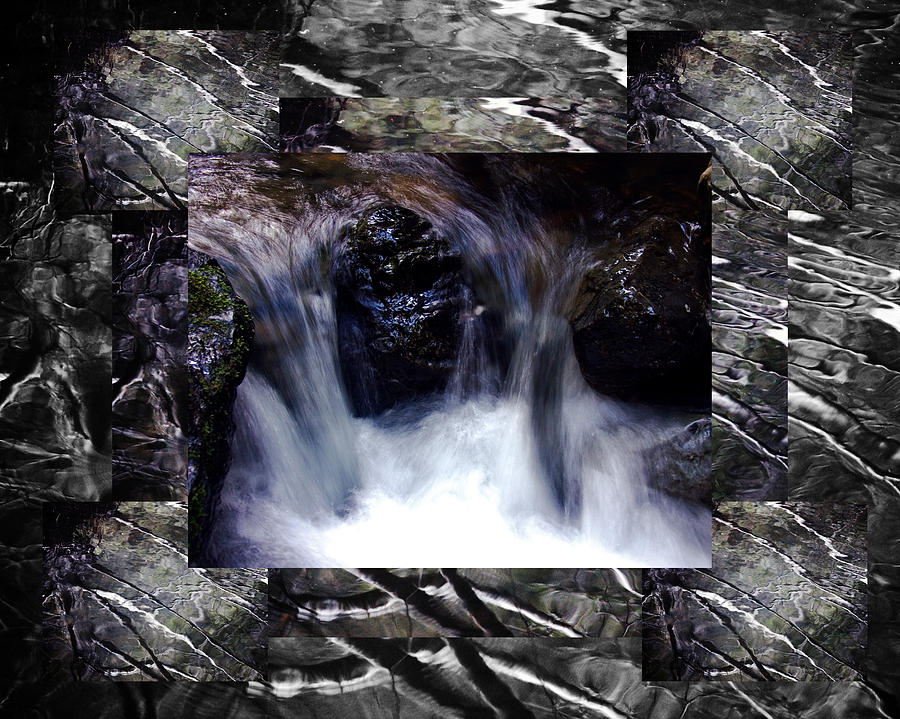 Waterfall Photograph - Reflecting Water Rhapsody Xx by D Kadah Tanaka
