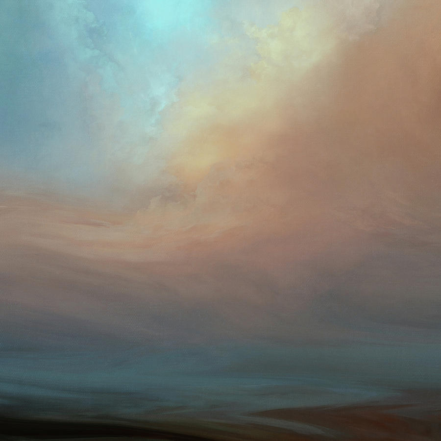 Atmosphere Painting - Reflection by Lonnie Christopher