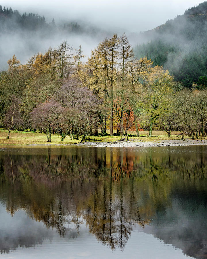 Loch Photograph - Reflection at Loch Lubnaig by Phillips and Phillips
