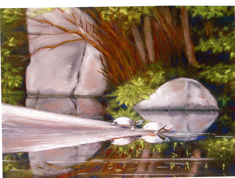 Reflection Painting by Florence Unkeless