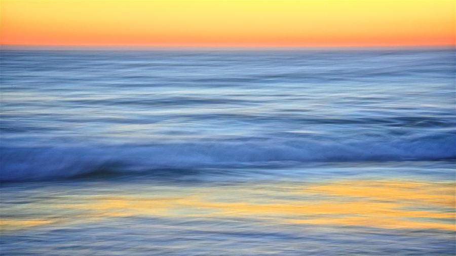 Nature Photograph - Reflection Gold by Zayne Diamond Photographic