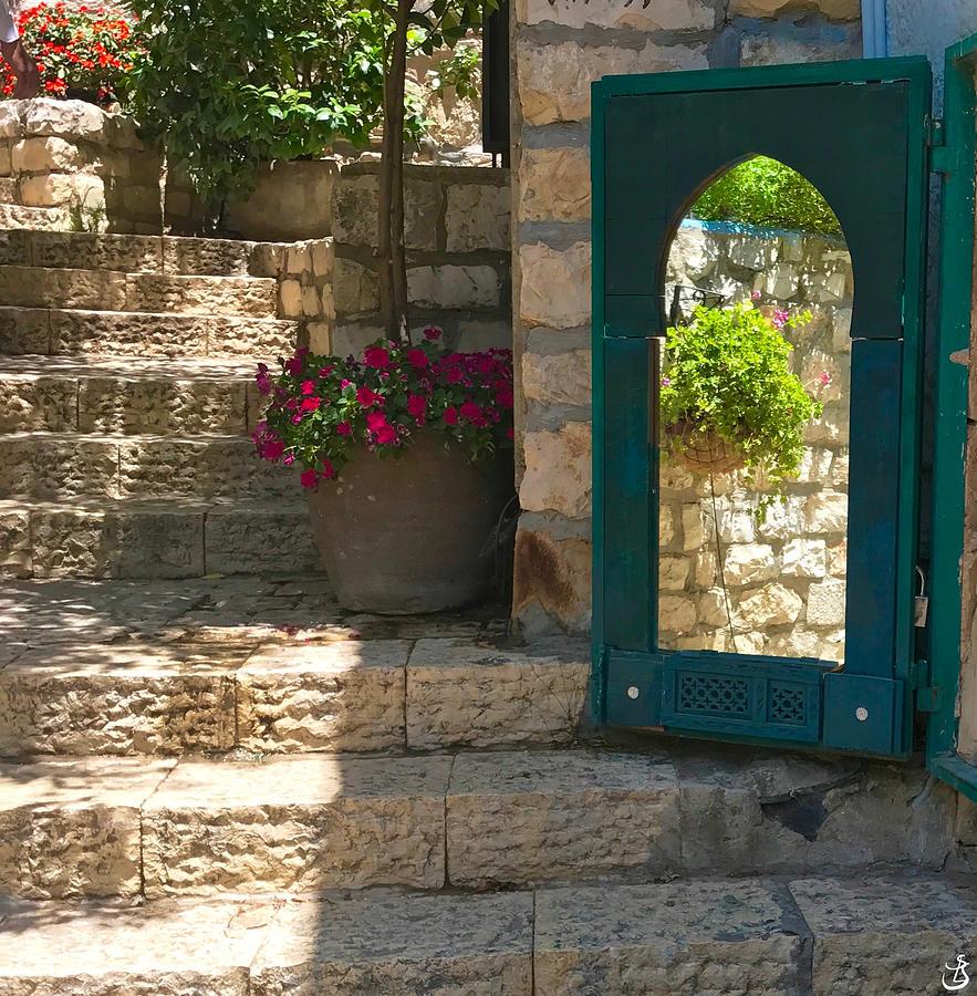 Reflection in Safed by Sarah-l Singer