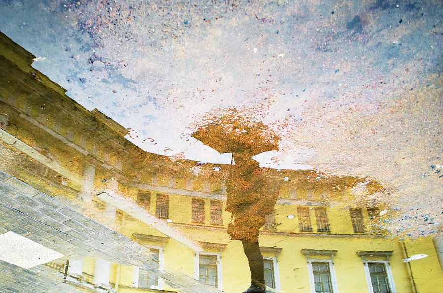 Impressionism Photograph - Reflection In Water by Yulia Leshchenko
