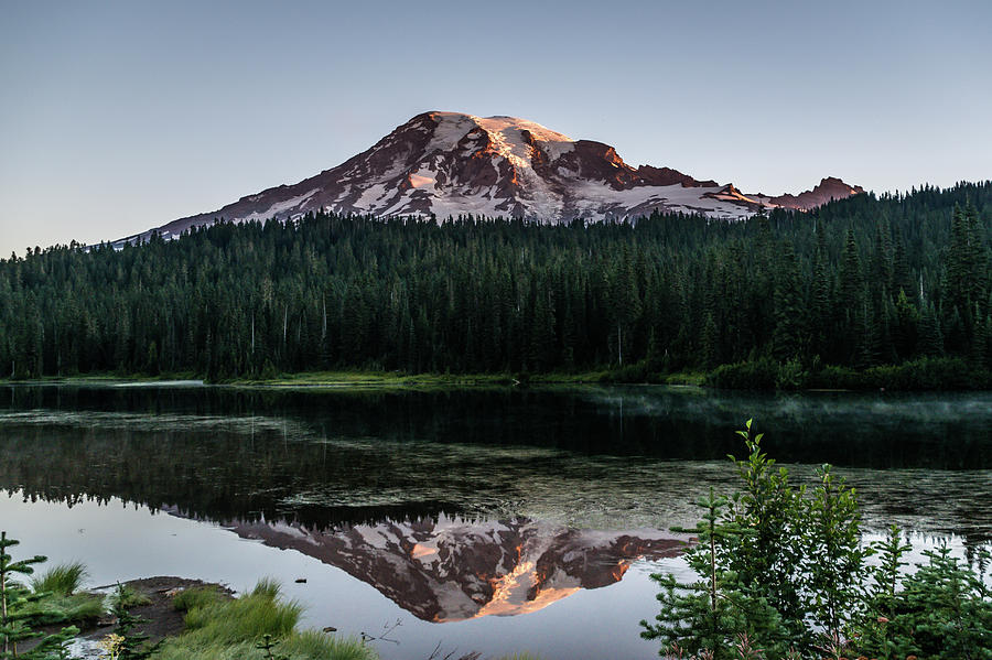 Reflection Lake Sunrise by Tony Porter Photography