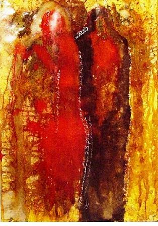 Spiritual Painting - Reflection Of Revenge by Mounir Lakkis