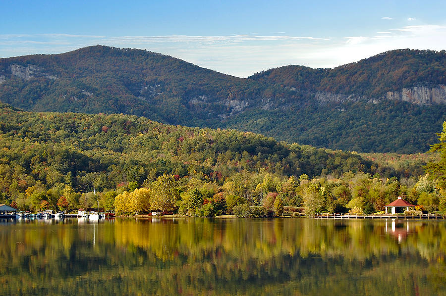 Lake Lure Photograph - Reflection Of The Gorge by Donnie Smith