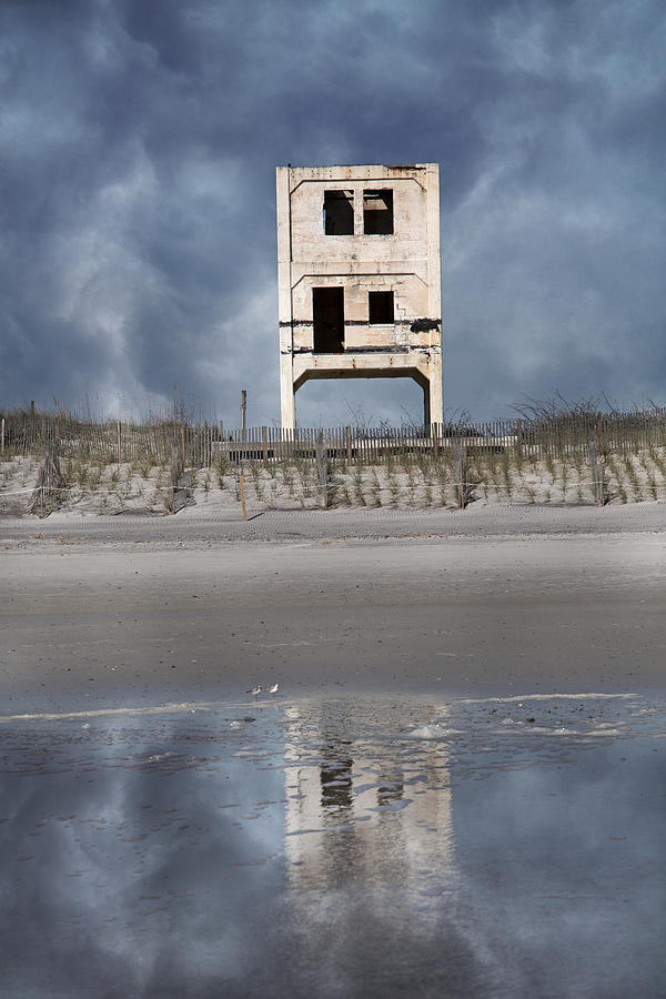 Ocean Photograph - Reflection Of The Past by Betsy Knapp