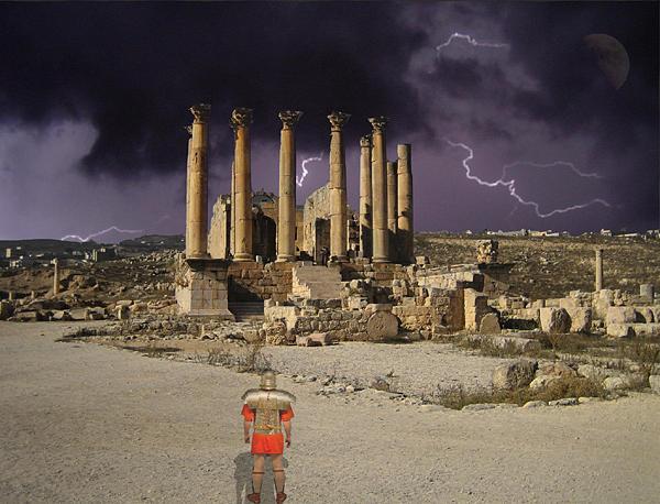 Landscape Photograph - Reflection On Destruction by Mitch Messmore