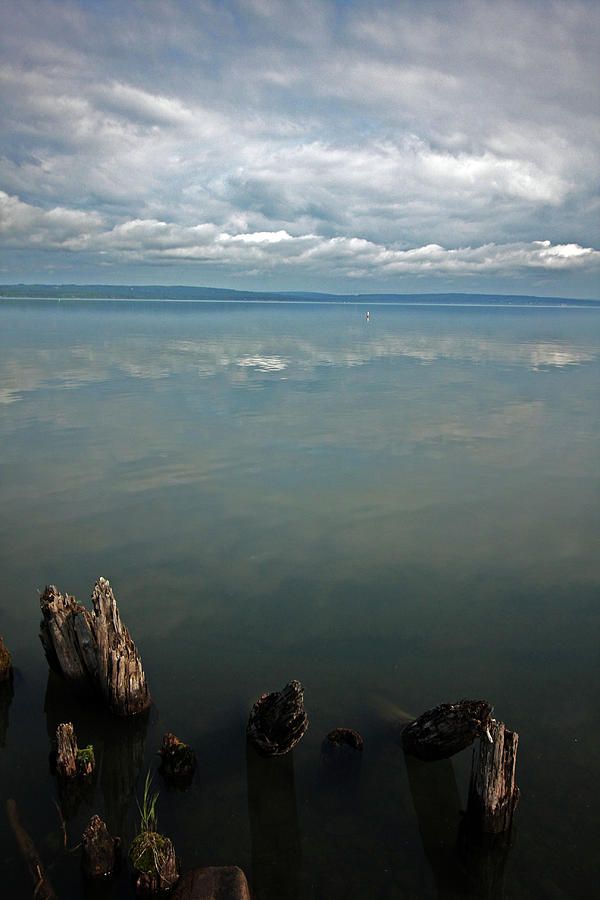 Lake Superior Photograph - Reflection Remains by Ty Helbach