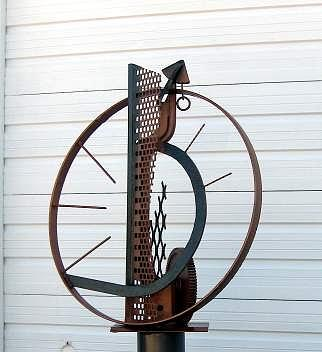Sculpture Sculpture - Reflection by Richard Beau Lieu