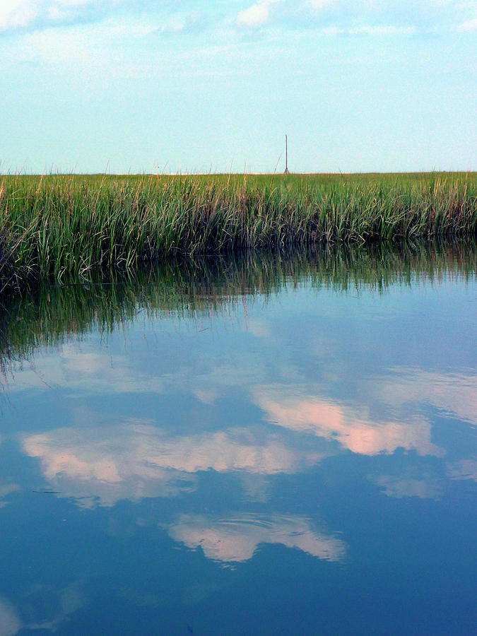 Clouds Photograph - Reflection by Stephanie Parks