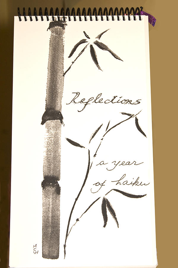 Reflections-- A Year Of Haiku Drawing by Maureen Wartski