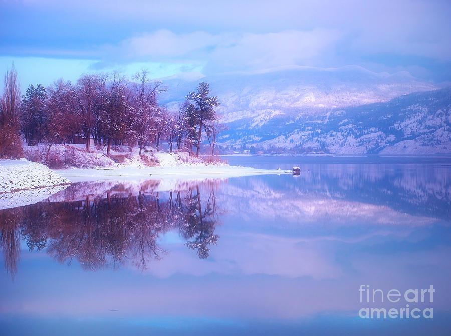 Reflections Photograph - Reflections Along Highway 97 by Tara Turner
