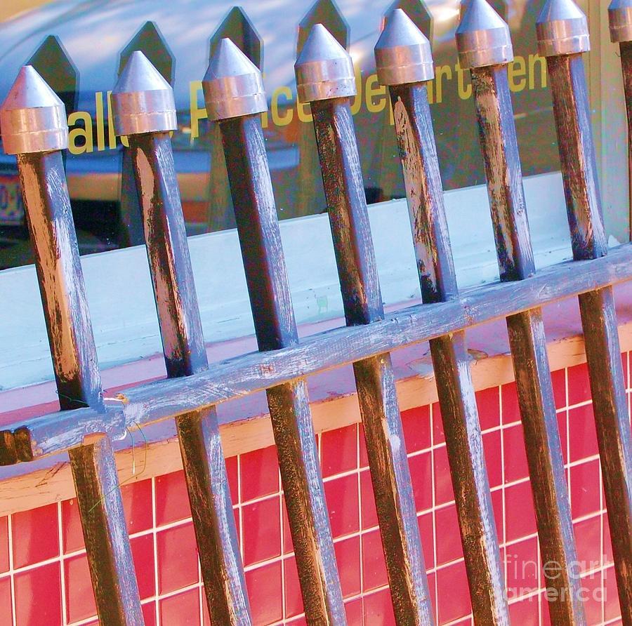 Gate Photograph - Reflections by Debbi Granruth