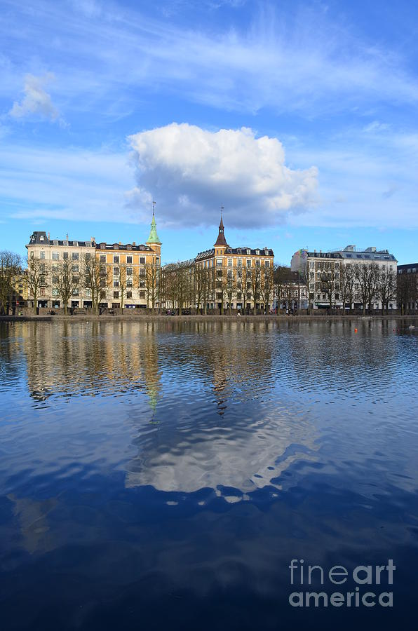 Copenhagen Photograph - Reflections by Eva Maria Nova