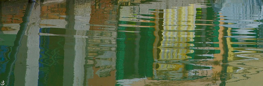 P 377/Reflections in Burano by Sarah-l Singer