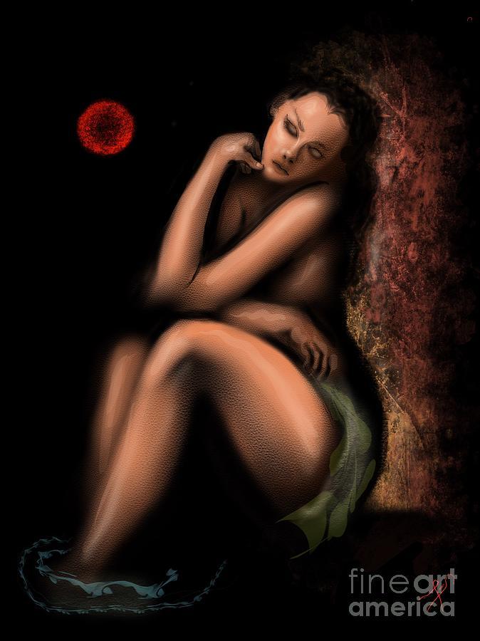 Reflections In Golden Light Digital Art by Tighe ODonoghueRoss