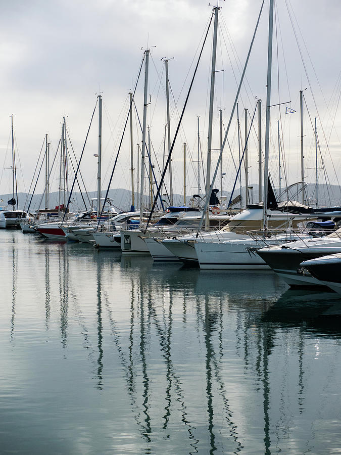 Reflections In St Raphael Photograph
