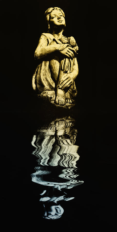 Moonlight Photograph - Reflections In The Moonlight by Bill Cannon