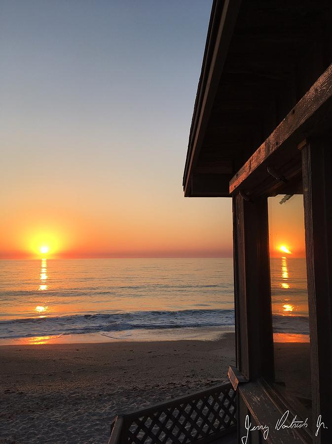 Ocean Scenes Photograph - Reflections by Jerry Doutrich Jr