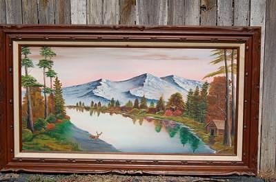 Reflections Painting by Jesus Raya Jr