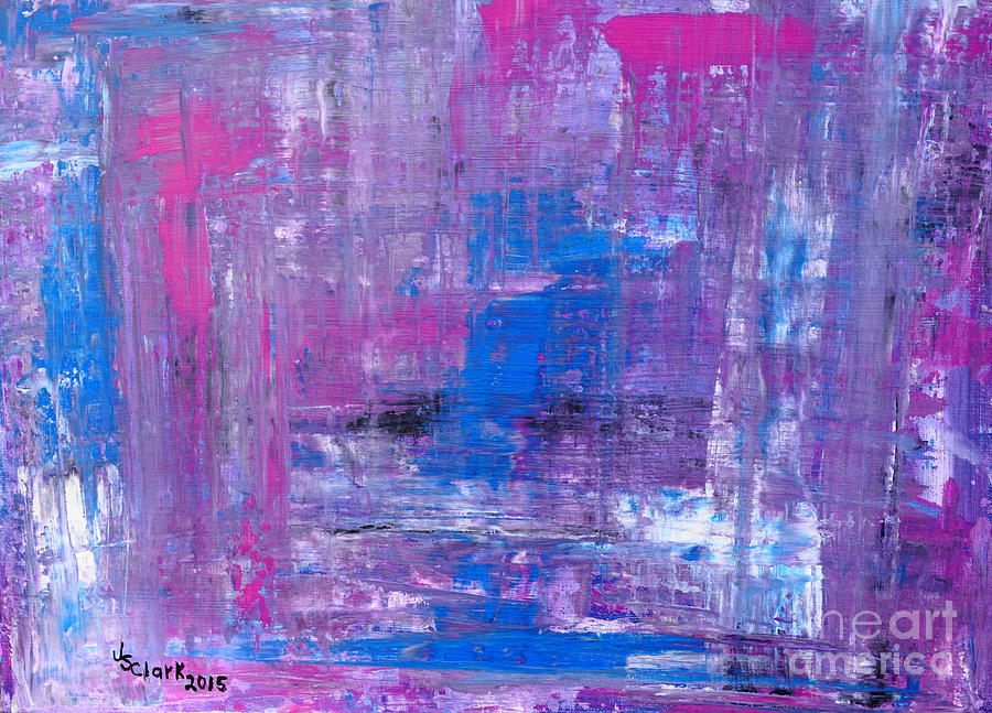 Abstract Painting - Reflections by Jimmy Clark