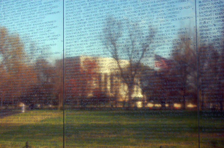 Patriotic Photograph - Reflections by Mandy Wiltzius