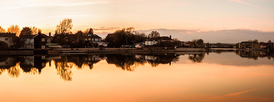 Emsworth Photograph - Reflections Of Emsworth by Trevor Wintle