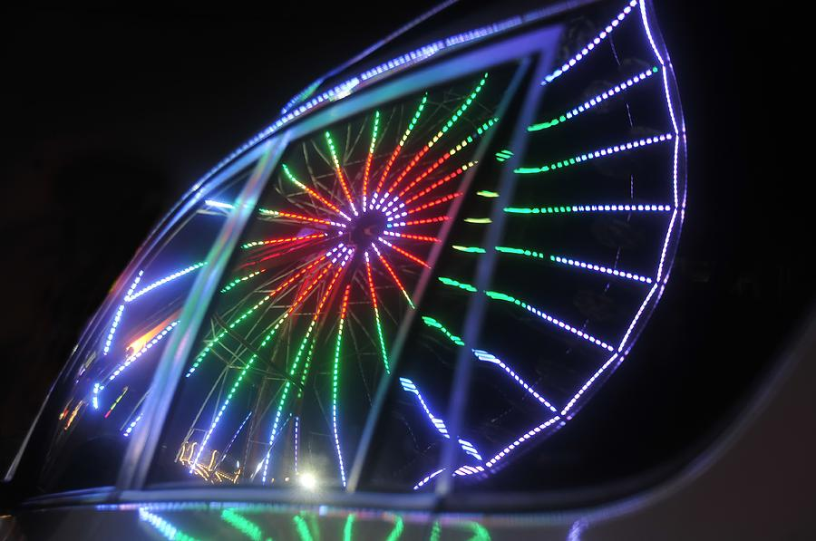 Fair Photograph - Reflections Of Ferris by David Lee Thompson