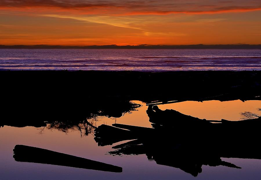 Reflections Of Kalaloch Photograph