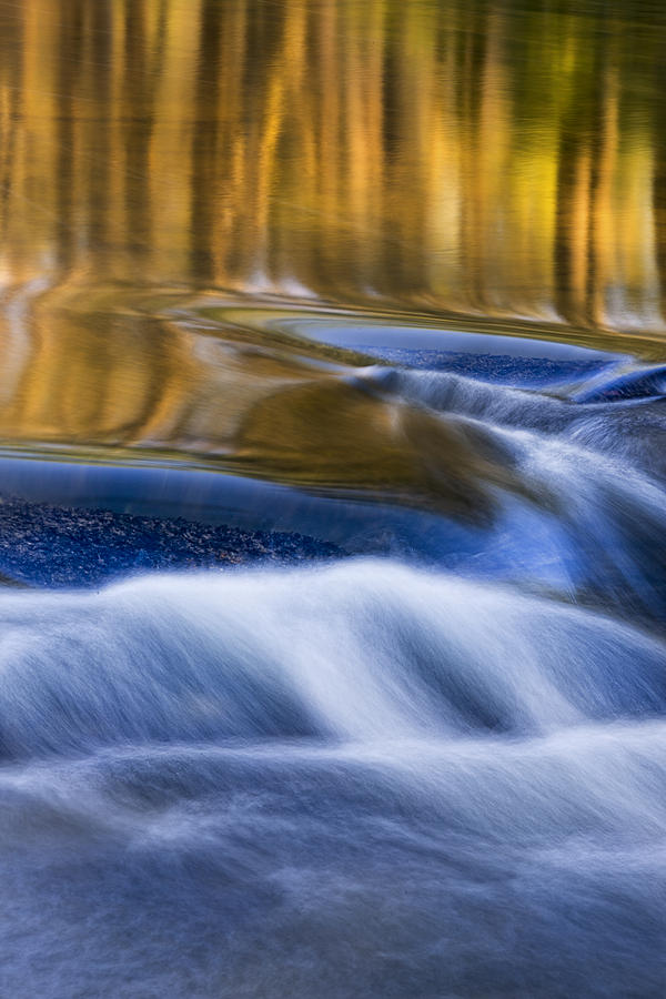 Reflections  of Linville River by Ken Barrett