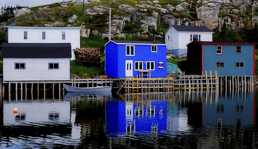 Reflections Of Newfoundland Photograph by Thomas Nighswander