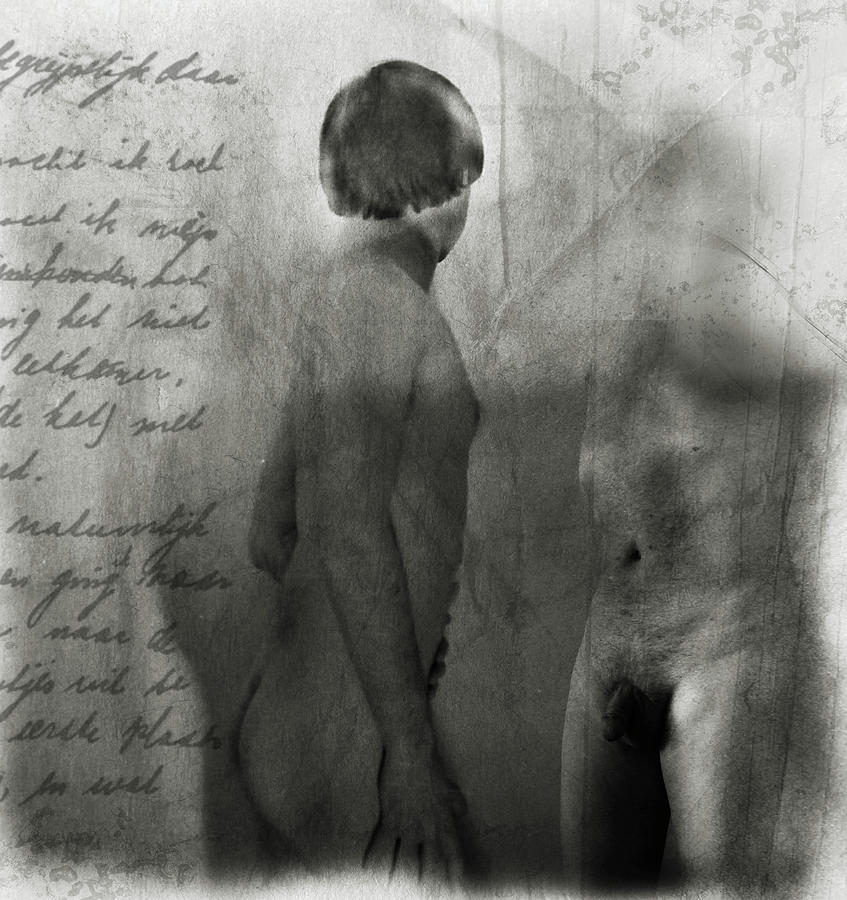 Nude Photograph - Reflections Of by Ready Mades