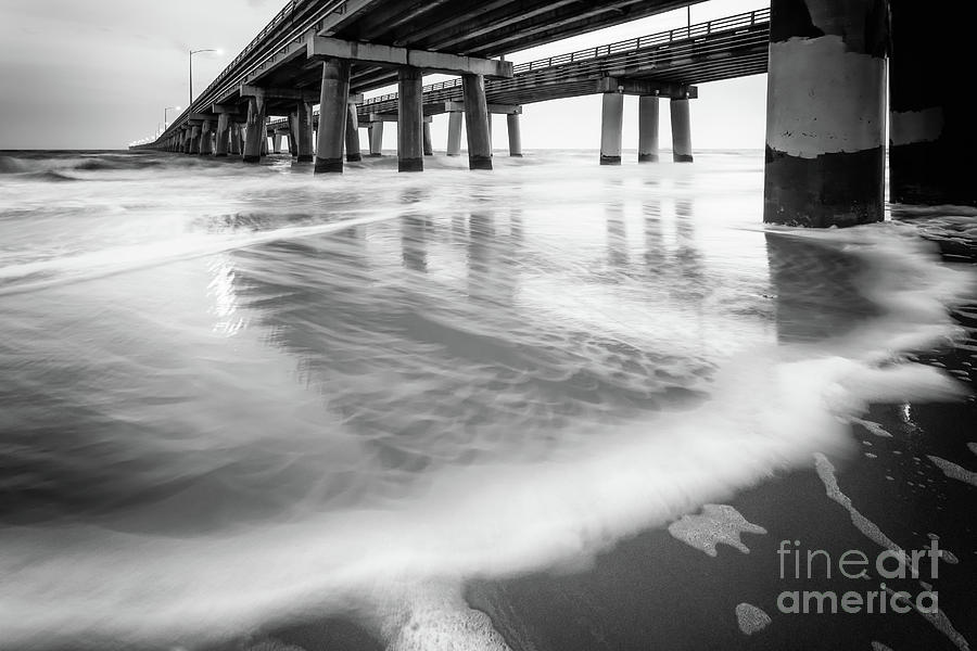 Bridges Photograph - Reflections Of The Chesapeake Bay Bridge Tunnel by Lisa McStamp