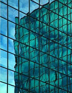 Photo Photograph - Reflections On Architecture 17 by David A Knudsen