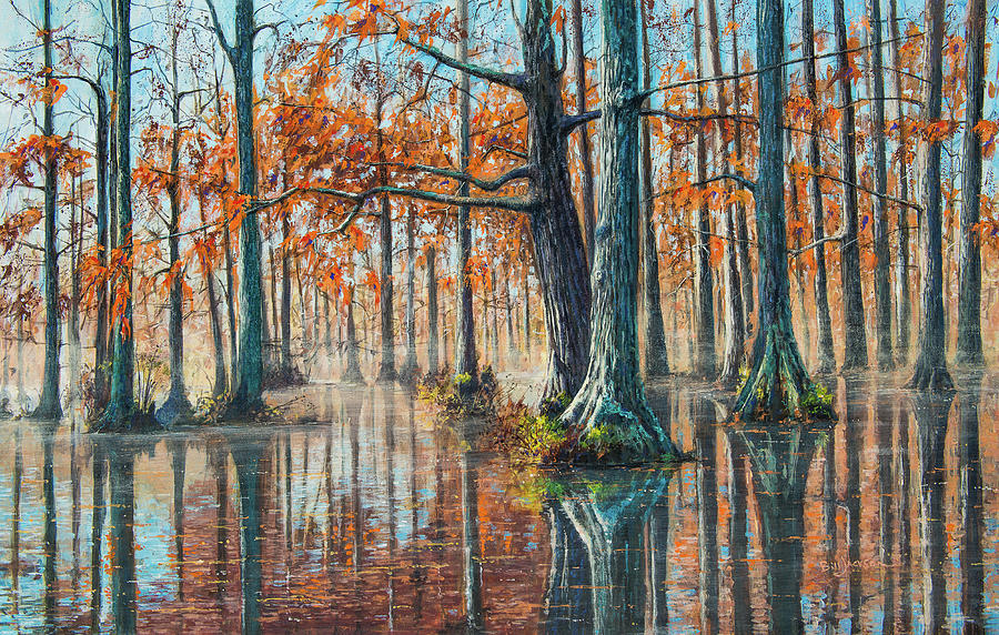 Reflections on Autumn by Bill Jackson