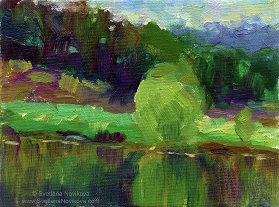 Impressionism Photograph - Reflections Painting Study By Svetlana by Svetlana Novikova