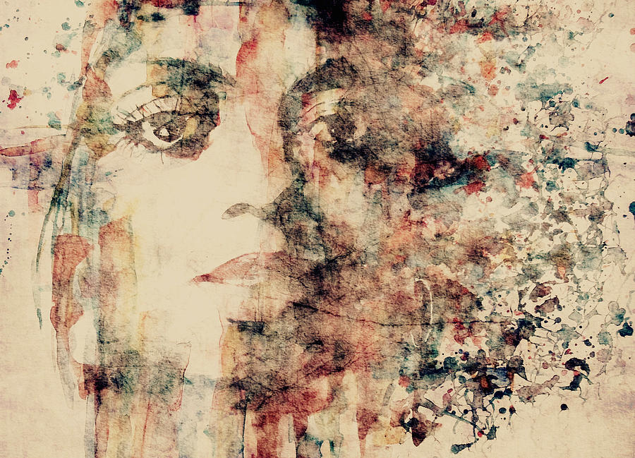 Diana Ross Painting - Reflections  by Paul Lovering