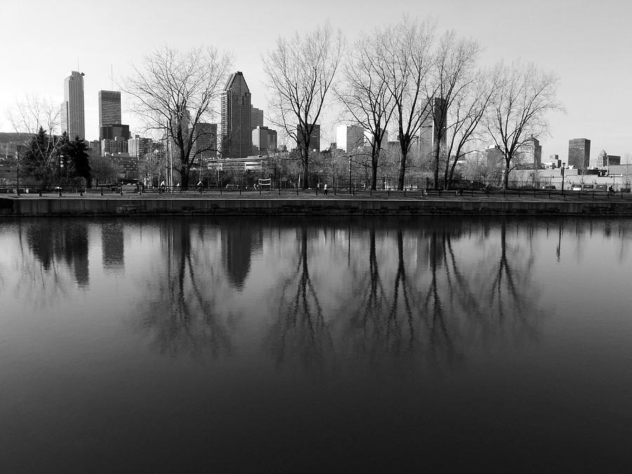 Montreal Photograph - Reflections by Robert Knight