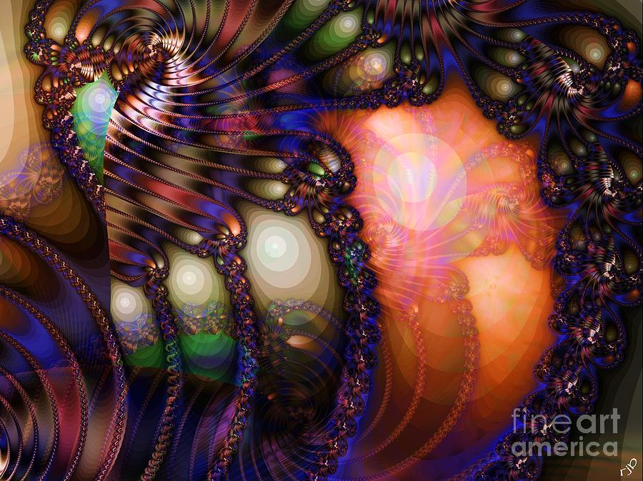 Reflections Digital Art - Reflections by Ron Bissett