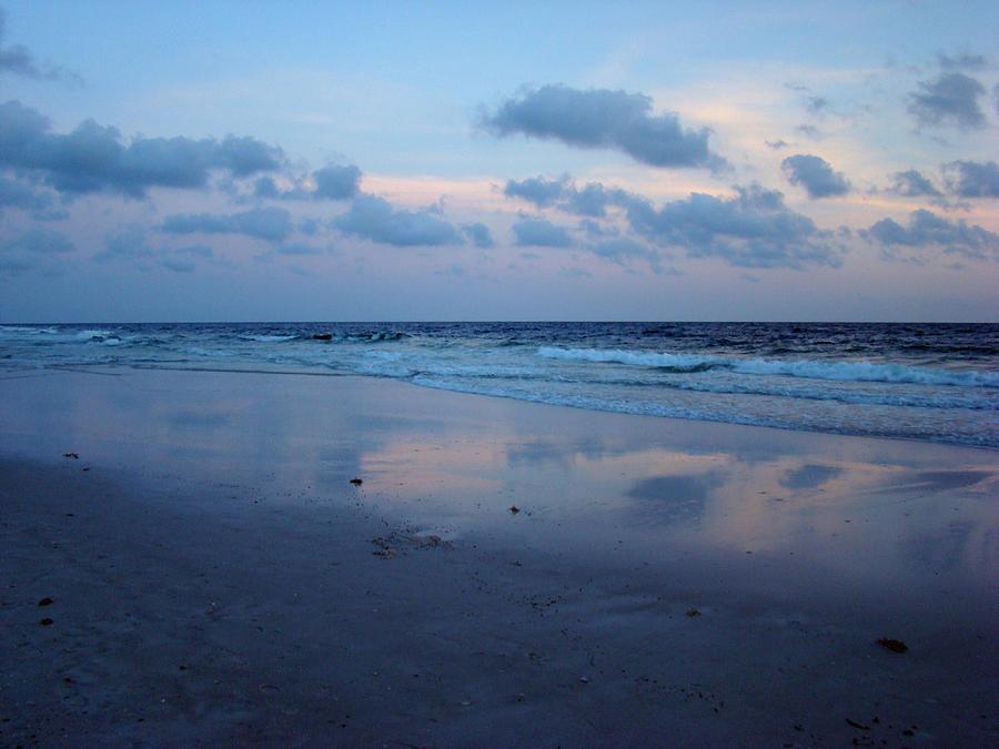 Panama City Beach Photograph - Reflections by Sandy Keeton