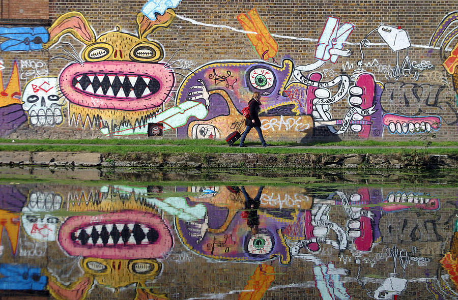 Photographer Photograph - Reflective Canal 11 by Jez C Self