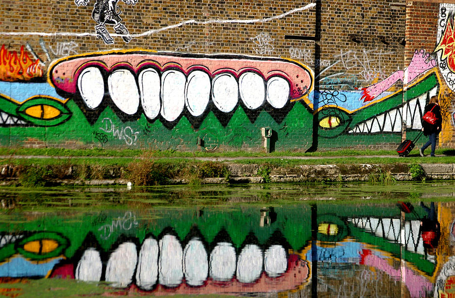 Photographer Photograph - Reflective Canal 13 by Jez C Self