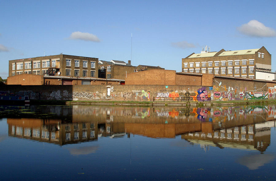 Photographer Photograph - Reflective Canal 3 by Jez C Self