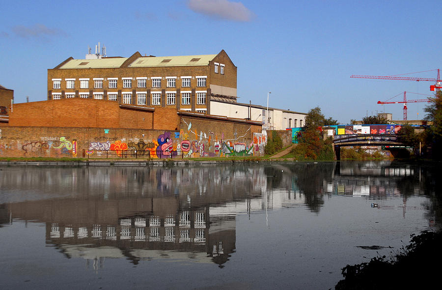 Photographer Photograph - Reflective Canal by Jez C Self
