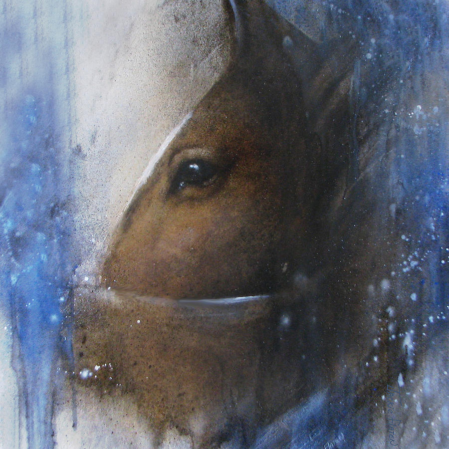 Reflective Horse by Jackie Flaten