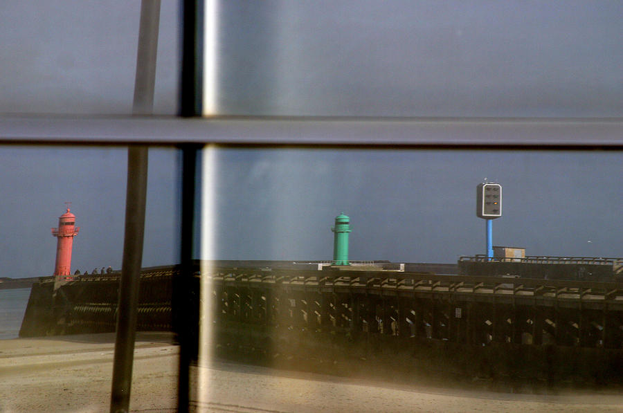Photographer Photograph - Reflective Lighthouses by Jez C Self