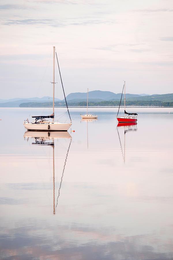 Sail Photograph - Reflexion IIi by Martin Rochefort