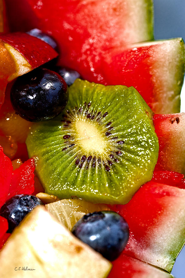 Fruit Photograph - Refreshing by Christopher Holmes