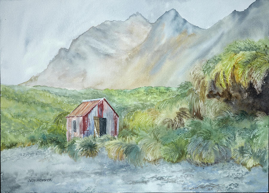Refuge Hut by Deborah Horner